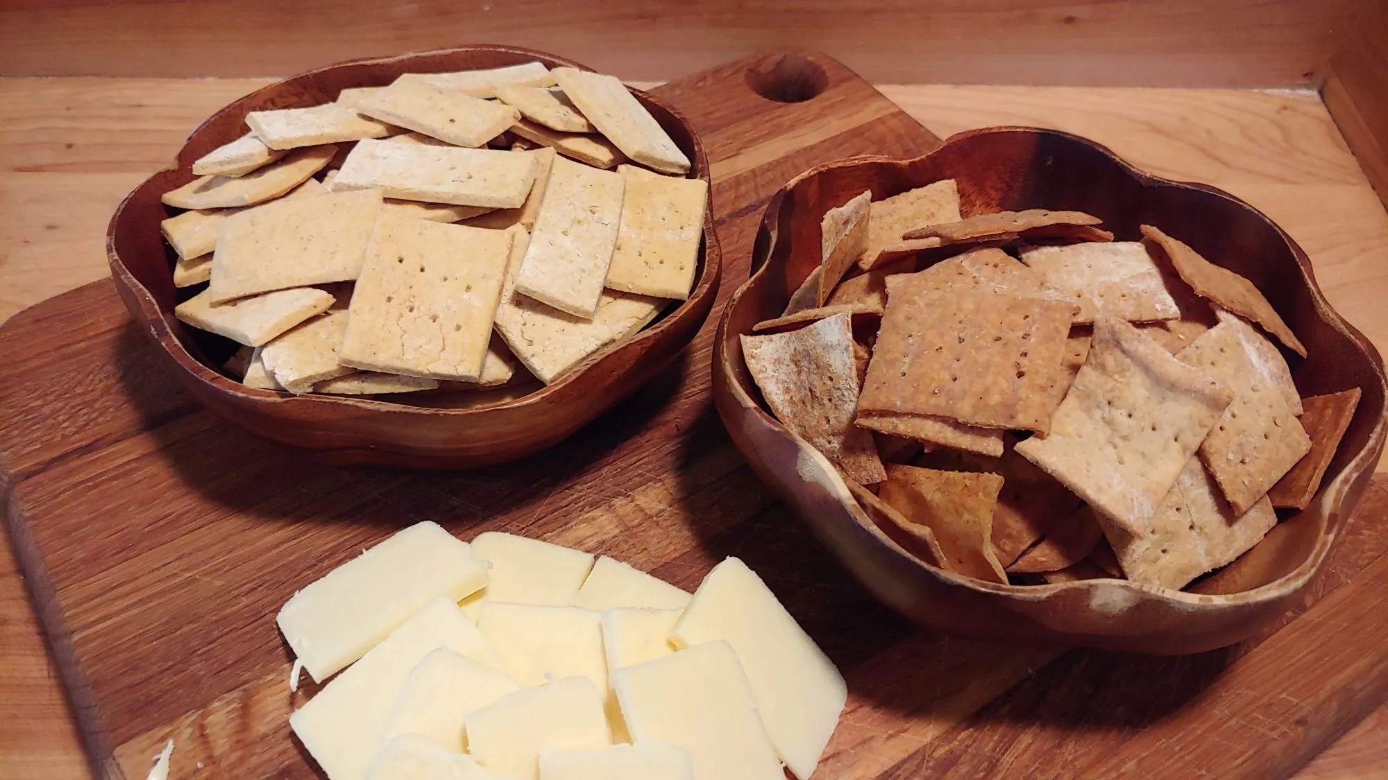 How to Make Crackers at Home