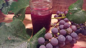 finished grape juice