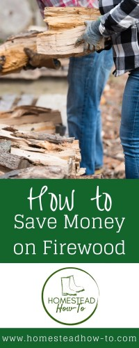 how to save money on firewood PIN