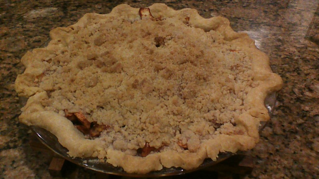 apple crumb pie - yum
