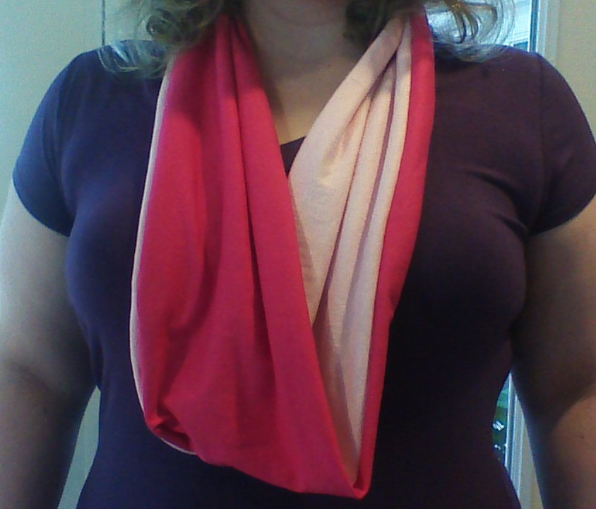 t-shirt scarf adult