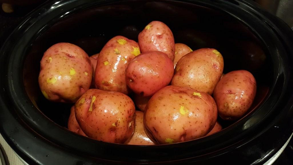 crock-pot baked potatoes 1