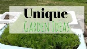 Unique Garden Ideas – See My Bathtub Gardens!