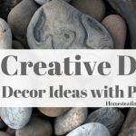 11 Creative DIY Home Decor Ideas with Pebbles