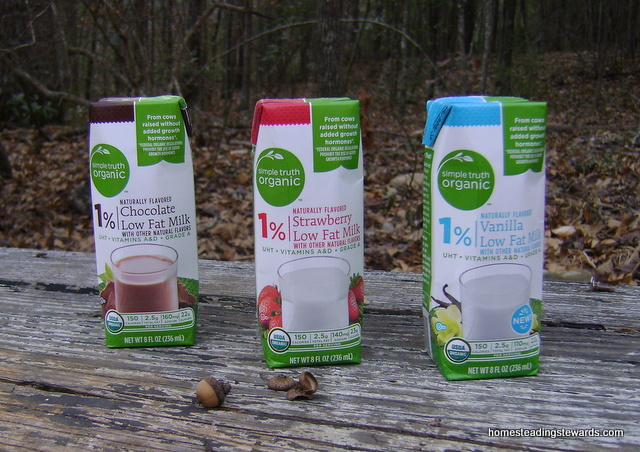 Simple Truth Organic Milk Boxes
