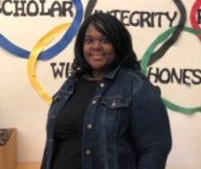Rookie Teacher of the Year Yolanda LaCount Reading