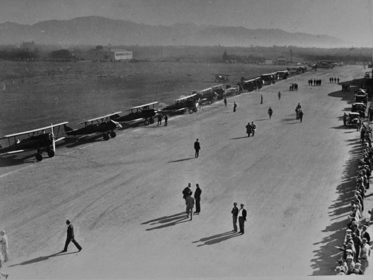 Aviation meet LA 1920s