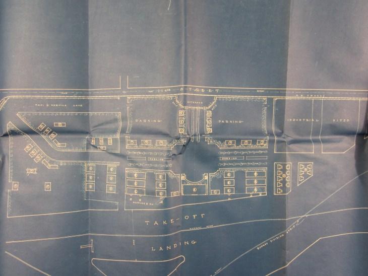 Mines Field blueprint detail