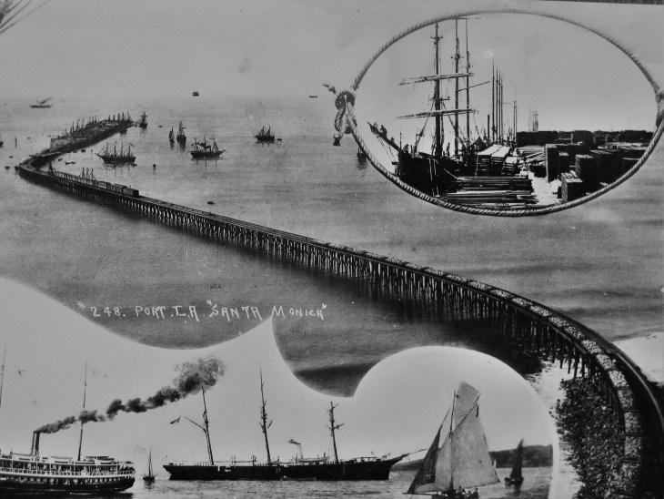 Santa Monica long wharf 2