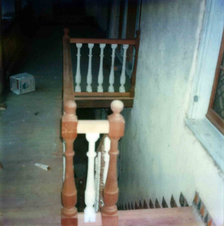 La Casa Nueva Courtyard Stairs Ballister Hand Rail Replacement 9
