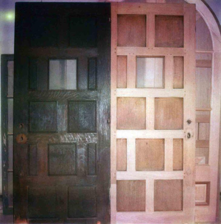 La Casa Nueva Pantry Doors One Restored One Relica 99.5.33.852