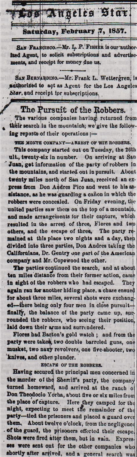Pursuit of Robbers Star 7Feb57