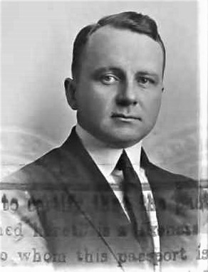 Gale photo passport 1923