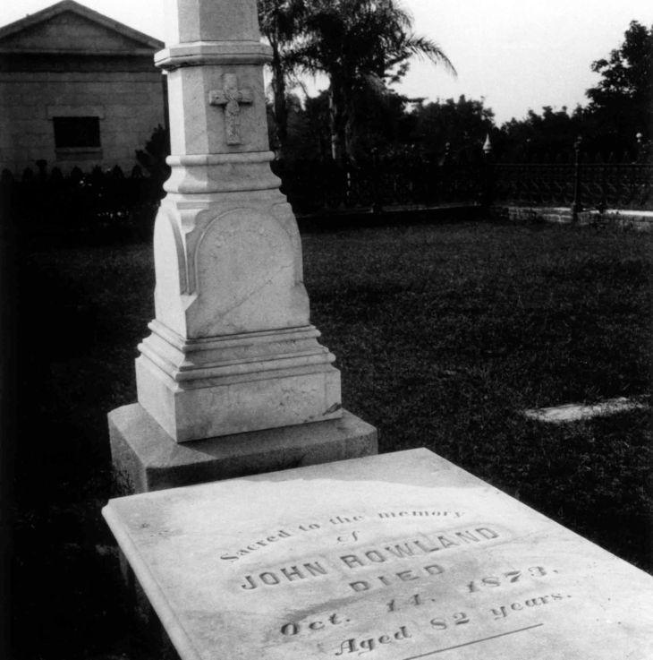 John Rowland Grave El Campo Santo 2002.89.48.46