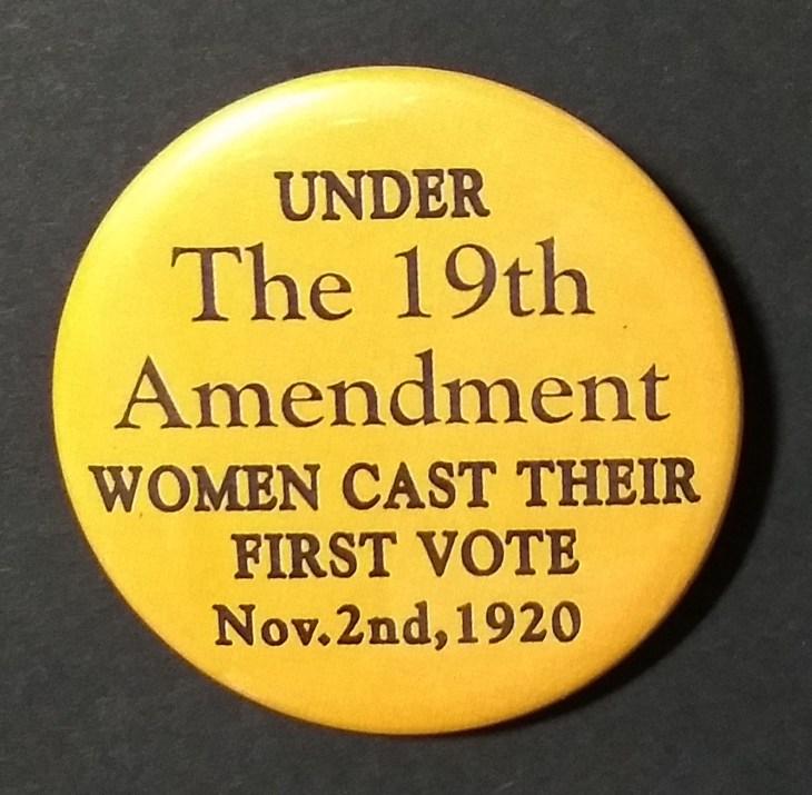 suffrage button
