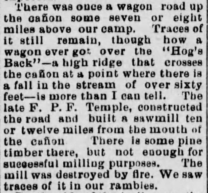 Temple Sawmill San Antonio Canyon Herald_Jul_23_1881_