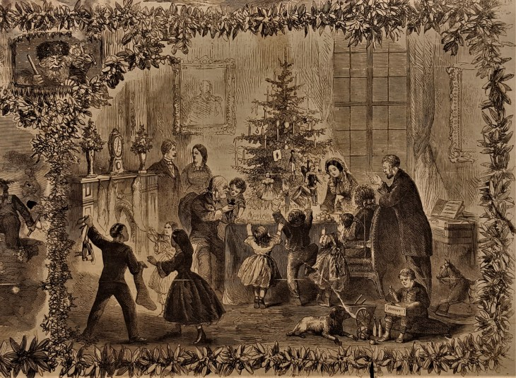 Christmas tree 1863