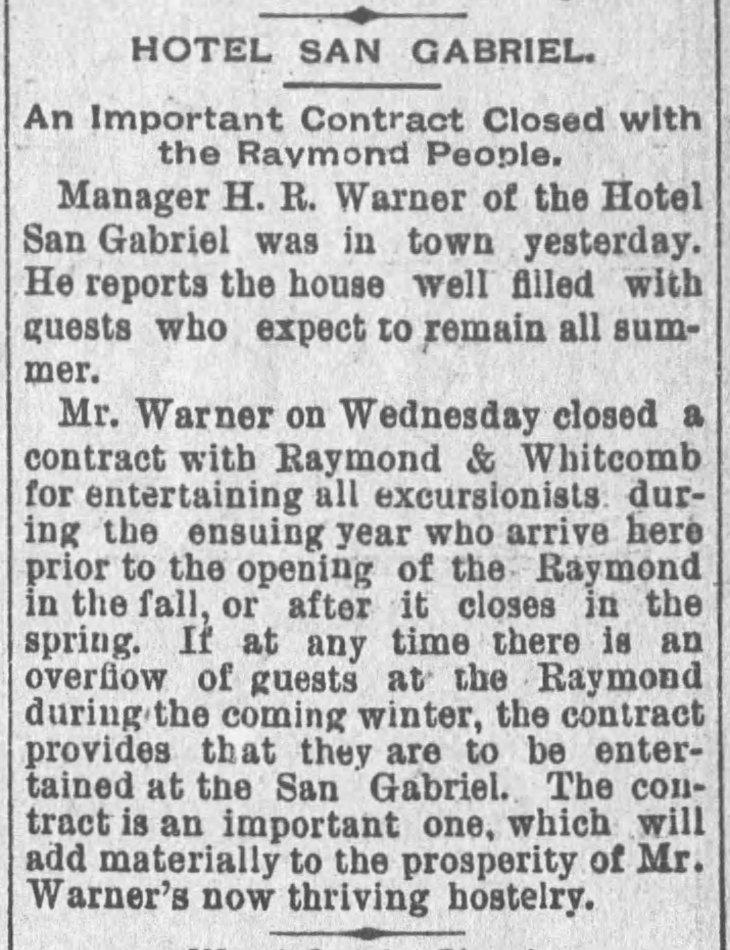 Hotel SG Raymond Whitcomb LA_Times_May_23__1890_