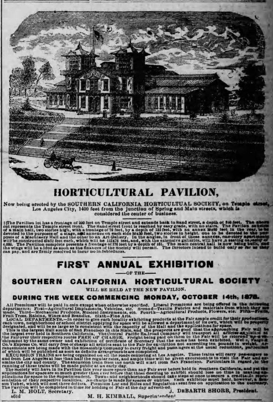Horticultural Bldg LA_Herald_Oct_15__1878_
