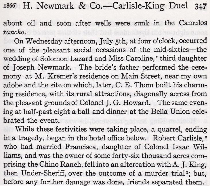 King Carlisle Newmark 1