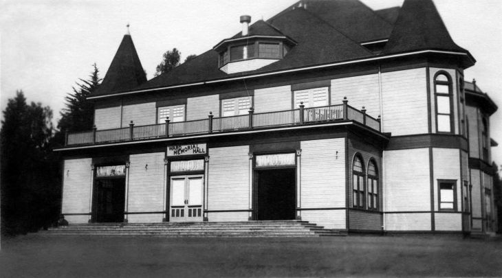 Ward Memorial Hall National Soldiers Home Sawtelle Los Angeles 2
