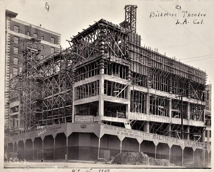 Biltmore Theatre construction_20190301_0001