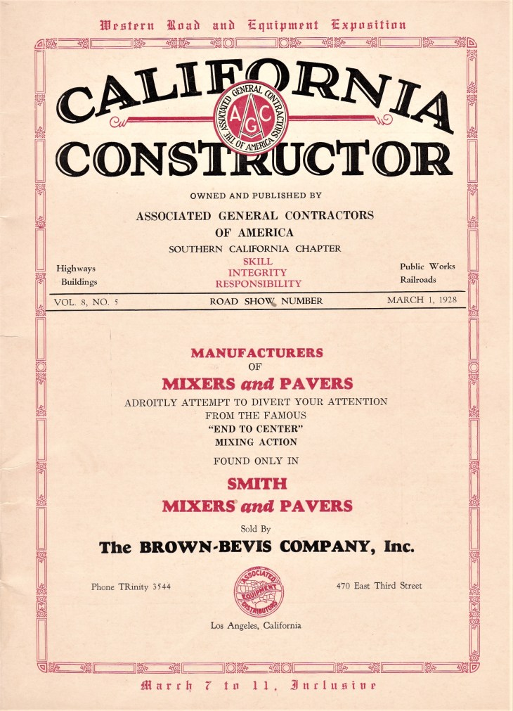 Califonia Constructor cover