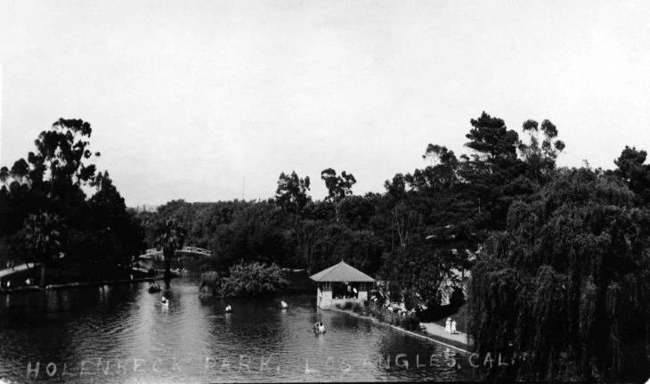 19053 View of Hollenbeck Park 2016.74.1.1