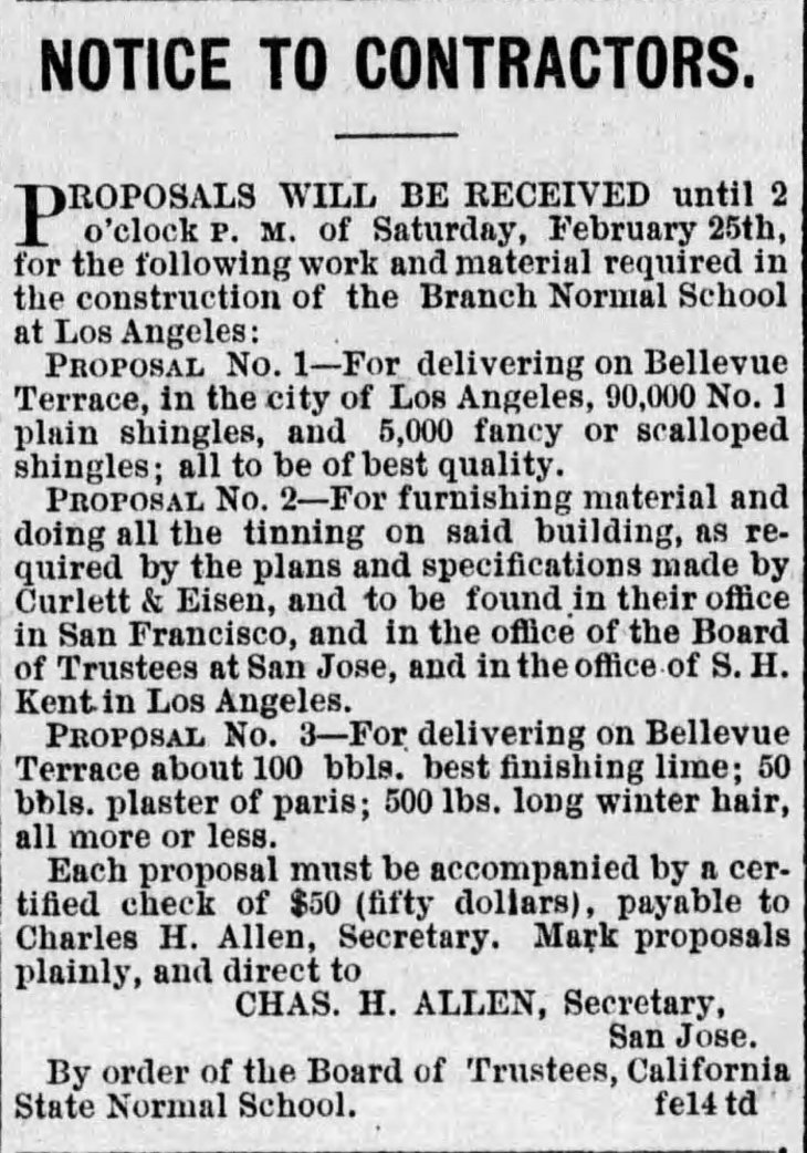 Notice to Contractors Times_Feb_24__1882_