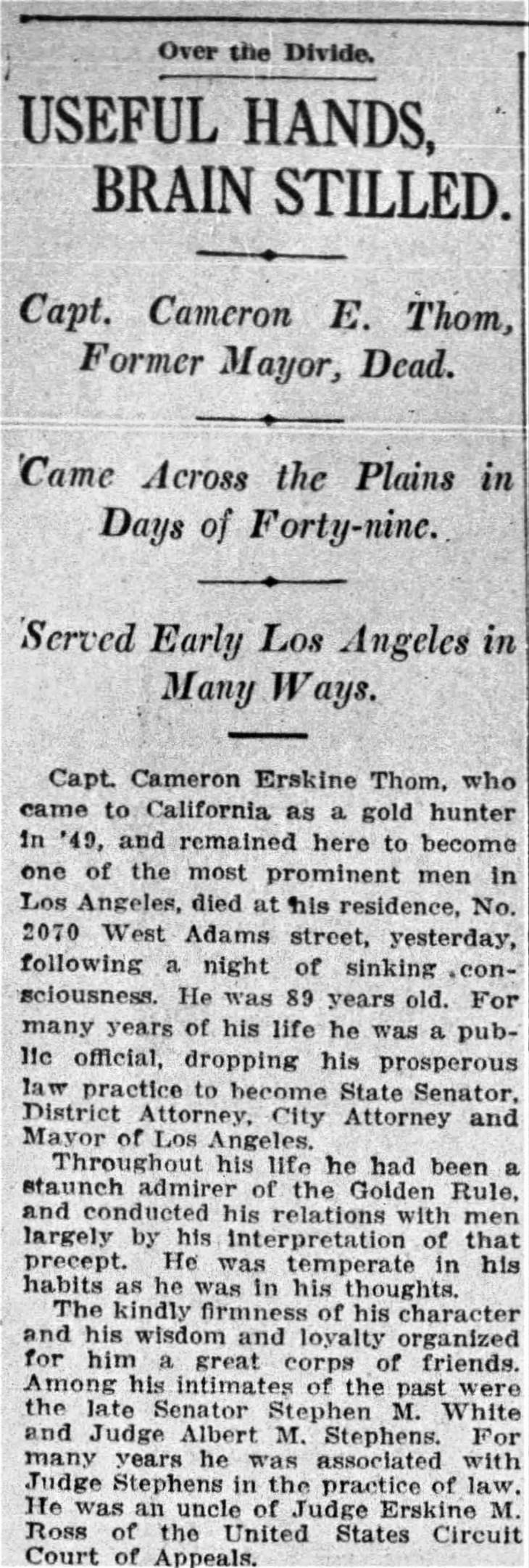 Obit Times_Feb_3__1915_