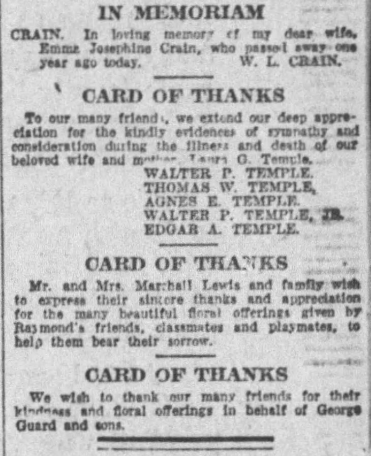 Laura death card of thanks Times_Dec_31__1922_ (1)