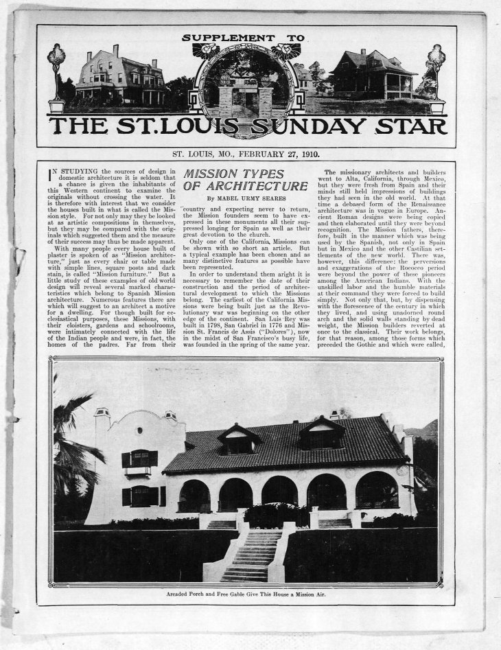 Mission Architecture article The_St__Louis_Star_and_Times_Sun__Feb_27__1910_