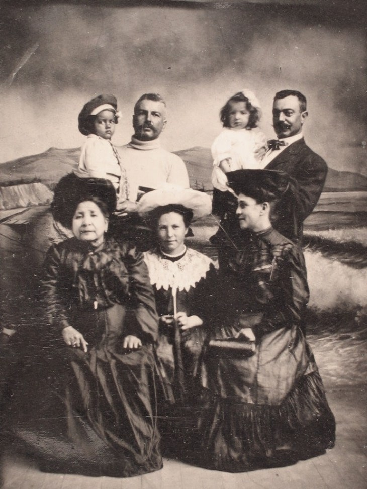 Walter Charles families 1906