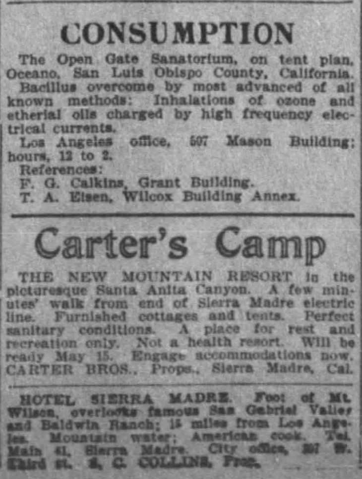 Carter's Camp ad The_Los_Angeles_Times_Sun__Apr_29__1906_