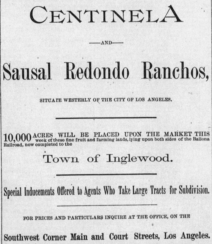 Inglewood ad The_Los_Angeles_Times_Thu__Aug_18__1887_