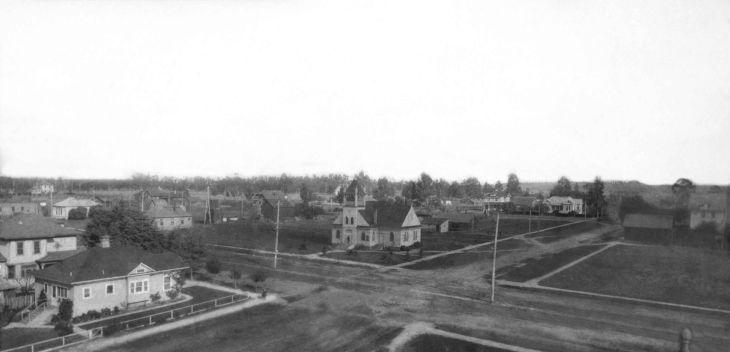 RPPC Panorama Of Area Near Inglewood 2013.993.1.1