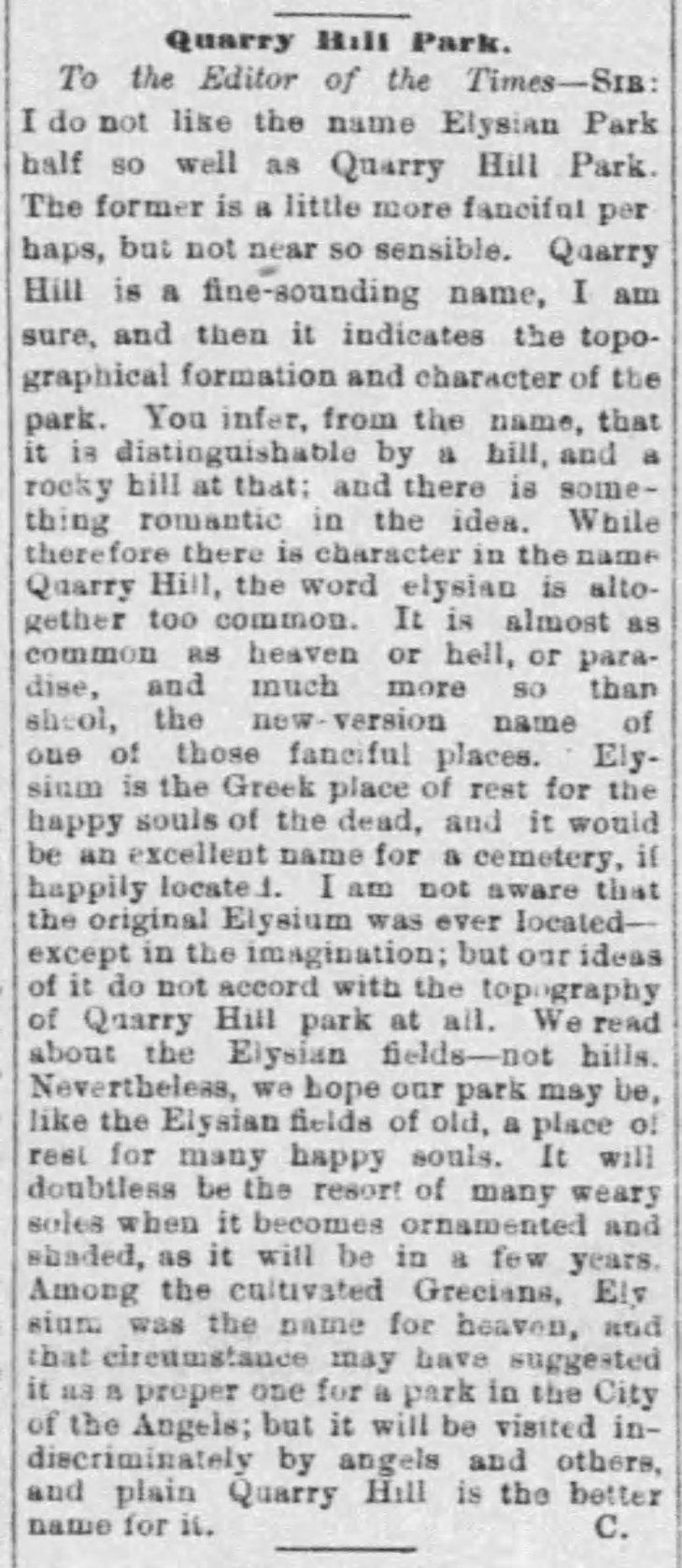 Quartez Hill Elysian names The_Los_Angeles_Times_Fri__May_7__1886_