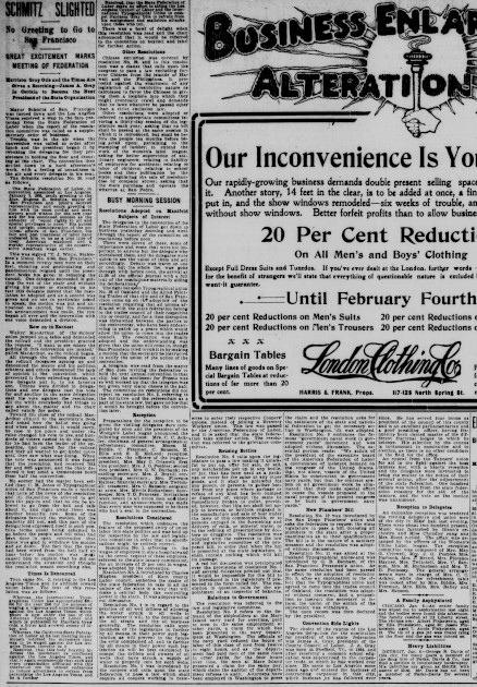 Cal Fed Labor conference Day 2 LA Herald 7Jan03