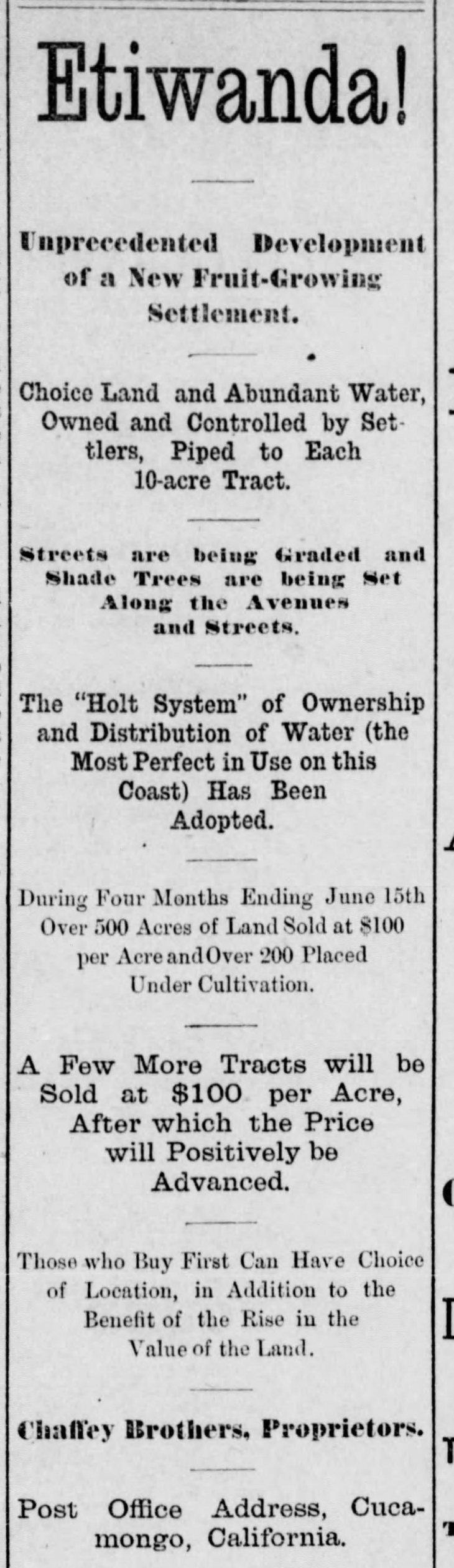 Etiwanda partial ad Los_Angeles_Herald_Sat__Jun_24__1882_
