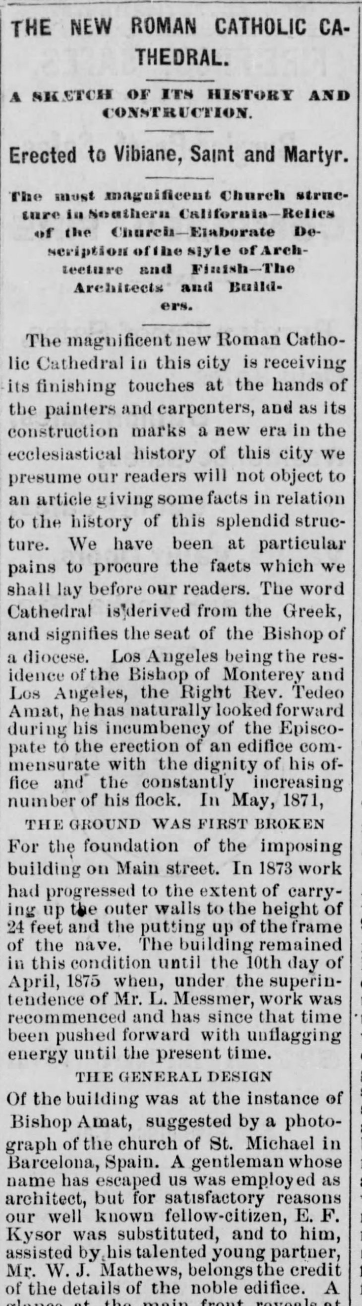 St. Vibiana Los_Angeles_Herald_Sun__Mar_12__1876_
