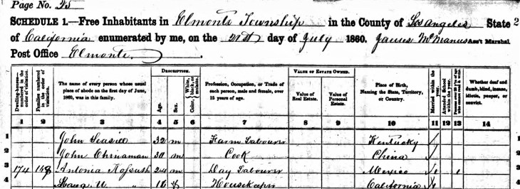 Workman 1860 census p2