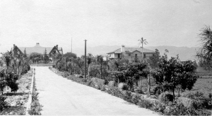 Workman Homestead Puente North Entrance ca 1925 90.17.1.7