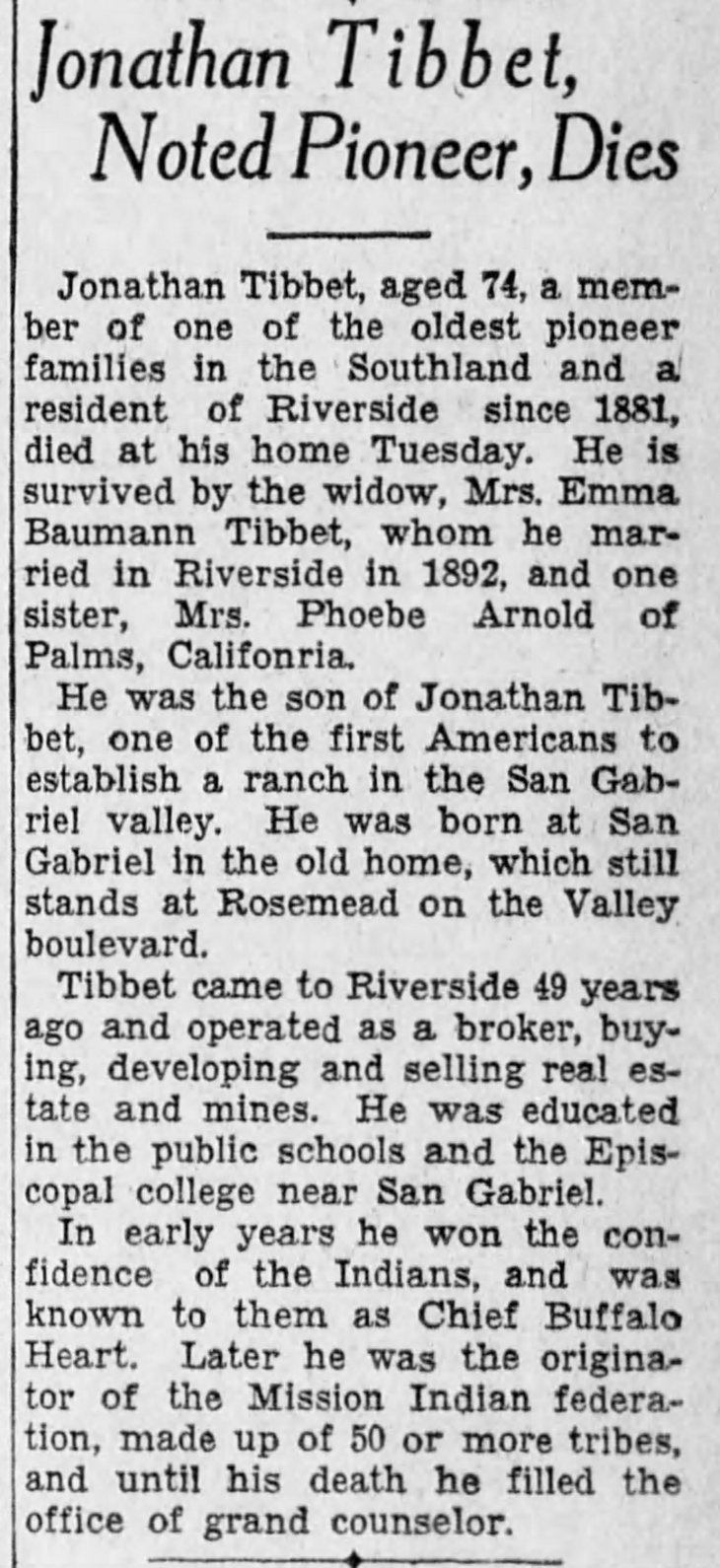 Tibbet obit The_San_Bernardino_County_Sun_Thu__Apr_24__1930_