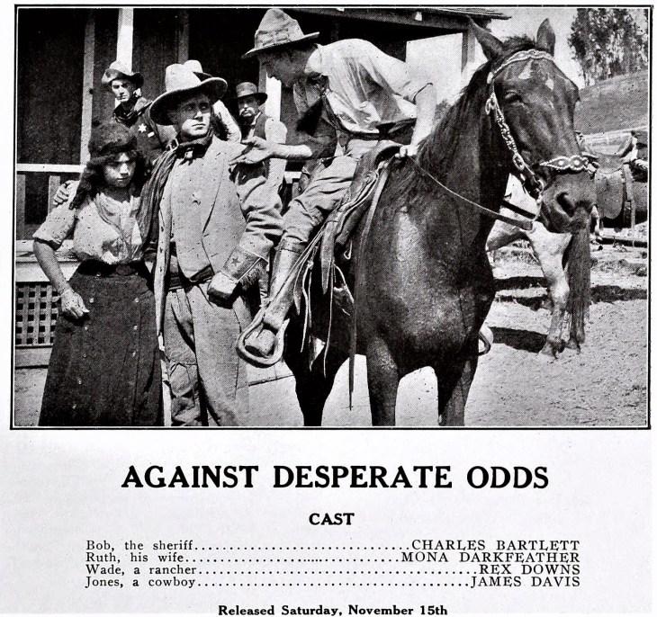 Kalem Kalendar 1913 Against Desperate Odds