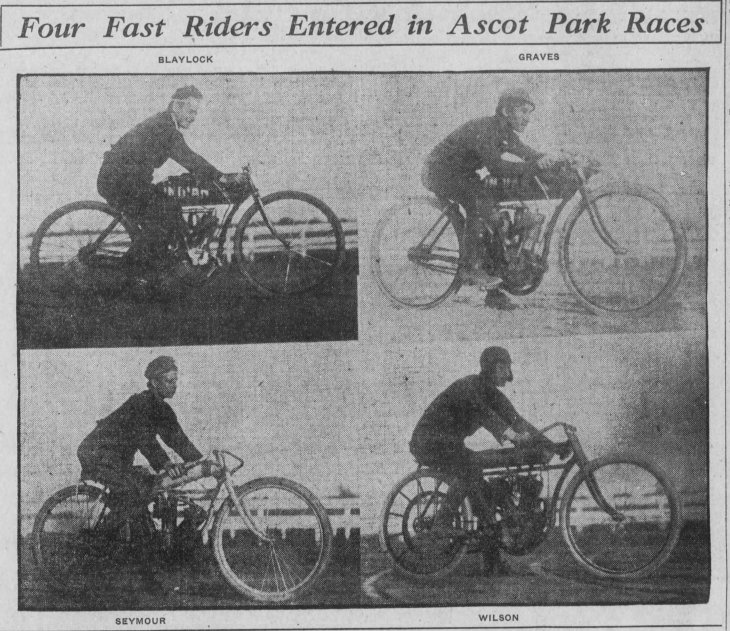 Ascot motorcycle race Los_Angeles_Herald_Sun__Nov_29__1908_