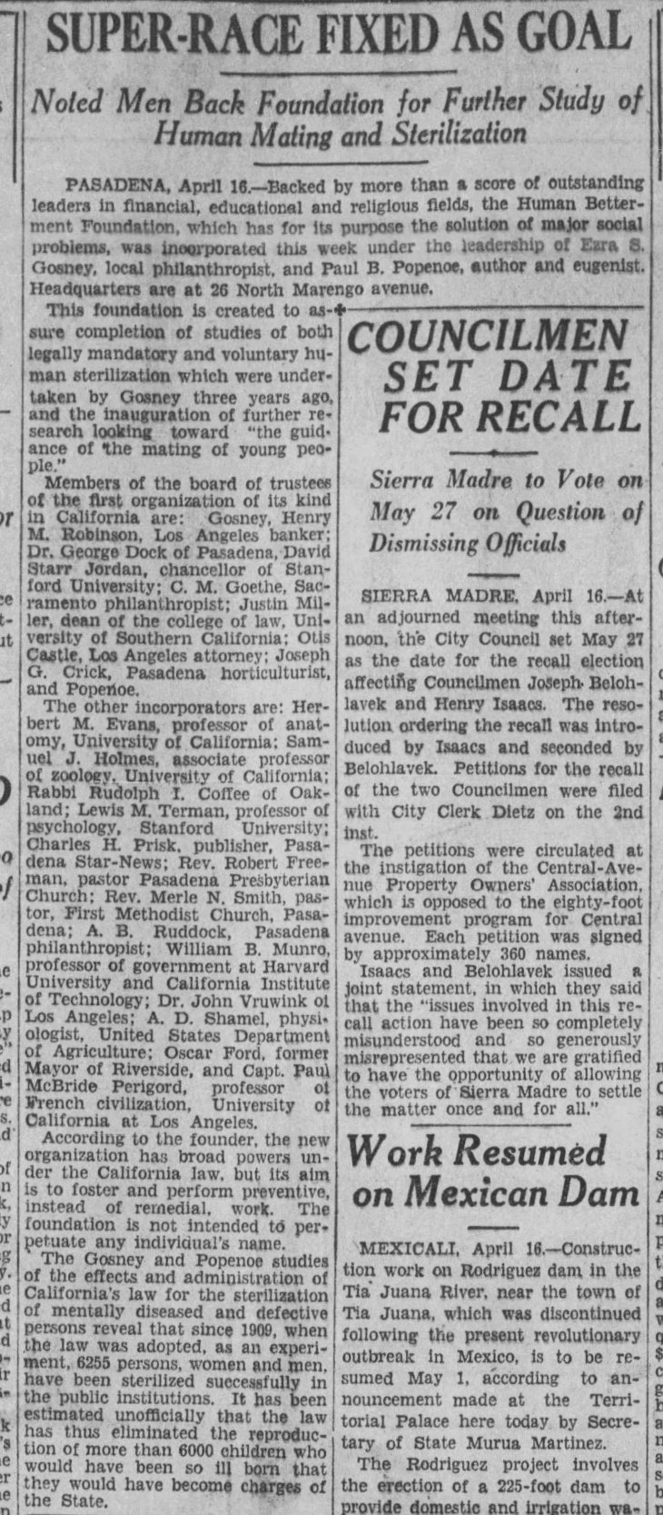 Human Betterment Foundatio incorporation The_Los_Angeles_Times_Wed__Apr_17__1929_