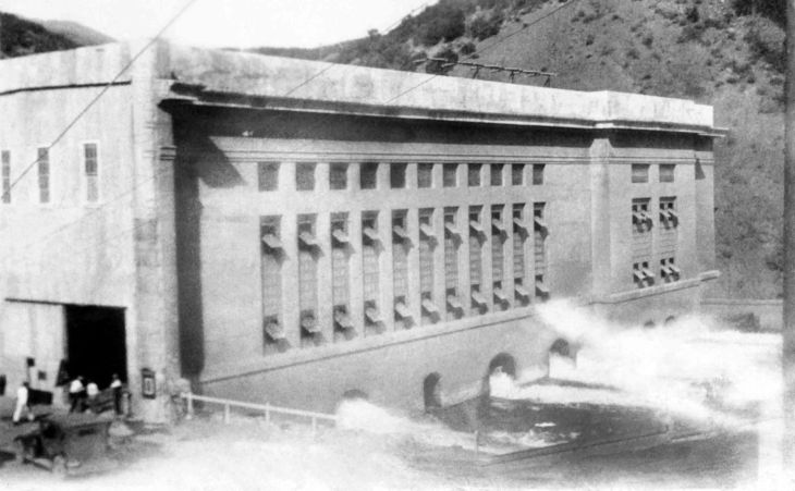 A View of Power House No.2 St Francis Dam 2015.458.1.3