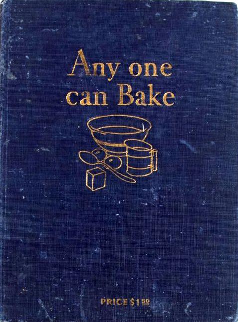 Anyone Can Bake recipe book
