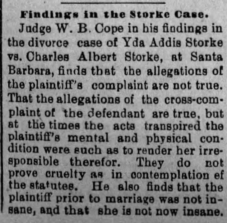 Yda court ruling The_Evening_Express_Mon__Feb_8__1892_