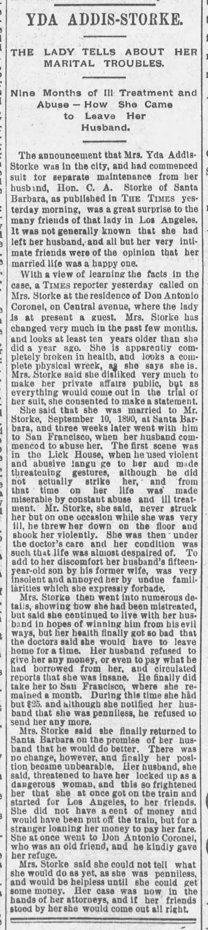 Yda divorce interview The_Los_Angeles_Times_Sat__Aug_8__1891_